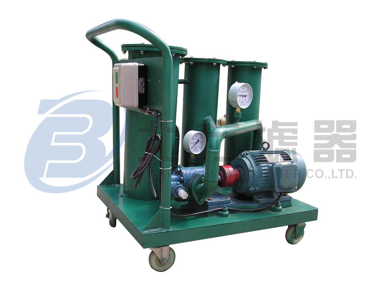 高精度便移式滤油机 LYC-100A