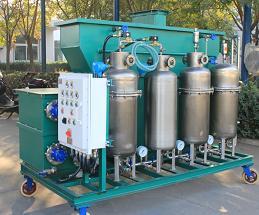 含油废水处理设备实物图