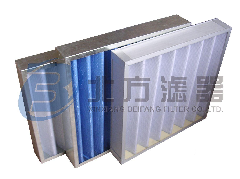 BKL系列中效板框空气过滤器