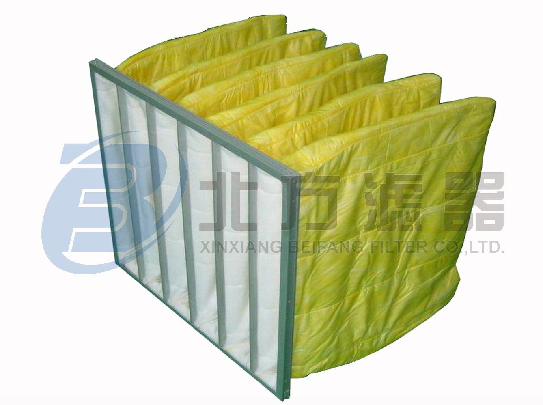 ZD系列通风用化纤(玻纤)袋式空气过滤器
