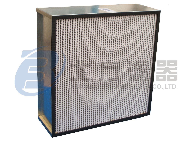 GYK系列高效铝隔板空气过滤器