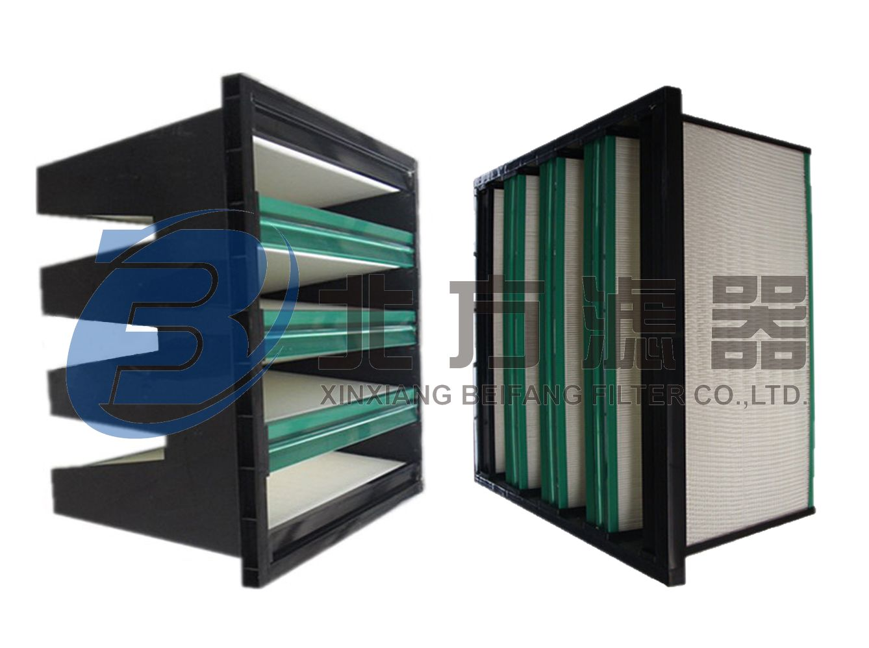 WBK系列组合式无隔板空气过滤器