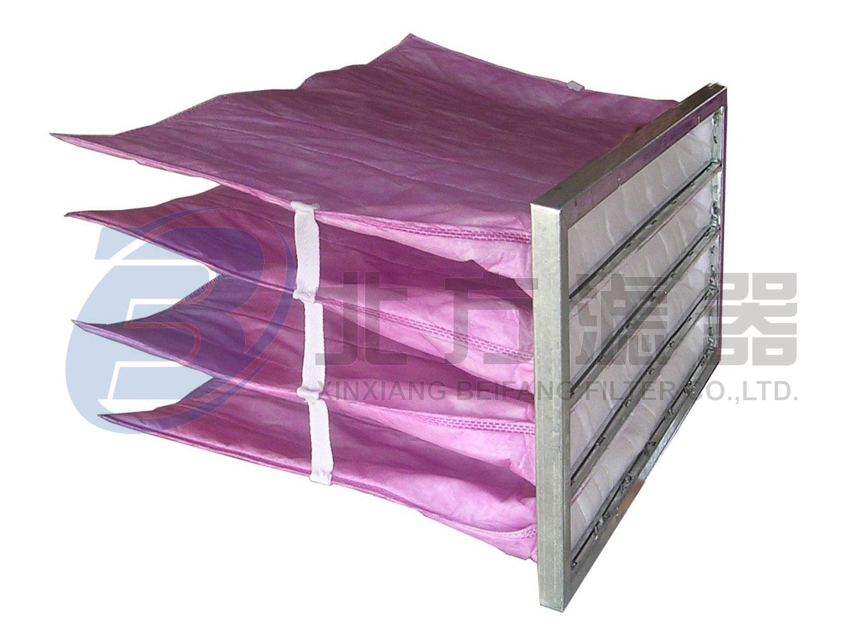 ZD中效粉色袋式空气过滤器