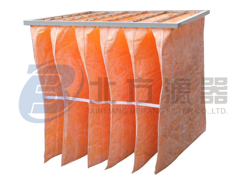 ZD系列中效合成纤维袋式空气过滤器
