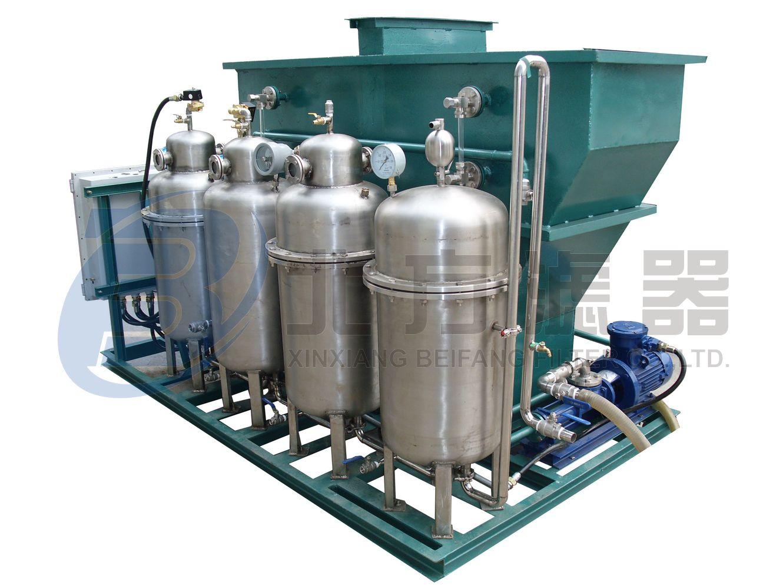 含油废水处理设备 SYF-Q-5