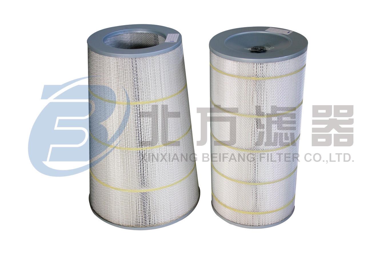 H12空气滤筒 化纤滤料滤筒